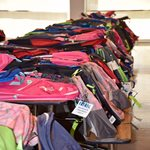 Riverside Students Received Backpacks
